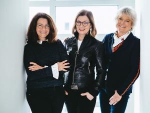 v.l. Anne Rosenzweig, Katharina Pellens, Beatrix Konrad